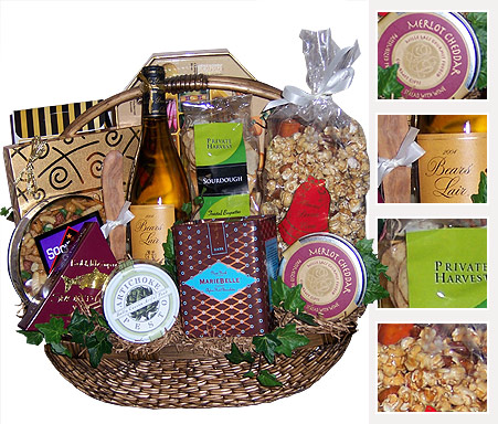 Private Picnic - Underwraps Gift Baskets Los Angeles California